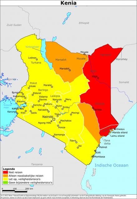 Reisadvies kenia, geüpdate met coronamaatregelen in kenia
